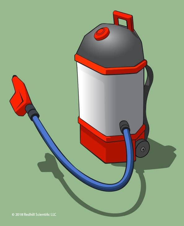 Redhill Scientific TFR Sanitation Sprayer